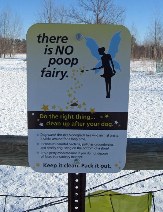 poop fairy sign