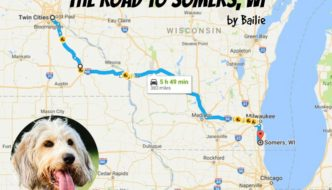 The Road To Somers Wisconsin By Bailie